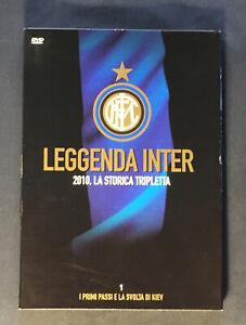 Dvd LEGGENDA INTER 2010 la storica tripletta n.1 Gazzetta dello Sport
