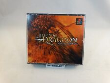 THE LEGEND OF DRAGOON PLAYSTATION 1 2 3 ONE PS1 PS2 PS3 PSX JP JAP GIAPPONESE