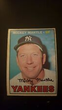 1967 O-Pee-Chee New York Yankees Baseball Card #150 Mickey Mantle - VG/EX