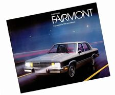 1980 Ford FAIRMONT Brochure/Catalog w/ Specifications: FUTURA,ES,Station Wagon