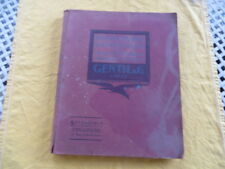 Catalogue GENTIL 1923 - fournitures cycle automobile moto aviation