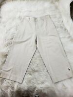 Lauren Ralph Lauren Sz 6 Walking Bermuda Cotton Chino Shorts Khaki Beige EUC