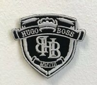 Hugo Boss Art Badge Clothes Iron on Sew on Embroidered Patch V