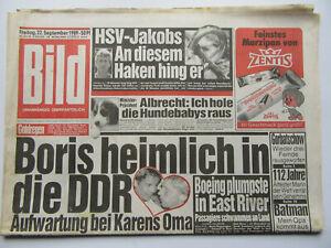 Bild Zeitung vom 22.9.1989, Claudia Schiffer,