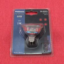 Paulmann 280.02 LED Reflektorlampe 1W GU5,3 Deko Einbauleuchte ROT 50 000h