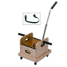 BaselineMobile Weighted Cart with Straight Handle and Accessory Box