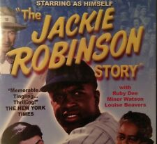 The Jackie Robinson Story Dvd Jackie Robinson Ruby Dee Louise Beavers Baseball