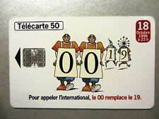 Telefonkarte Phone Card France Telecom 50 Unités Télécarte 1996 Frankreich