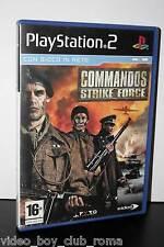 COMMANDOS STRIKE FORCE GIOCO USATO BUONO SONY PS2 EDIZIONE ITALIANA 30195