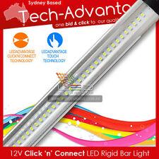 12V 30CM 39 LED ULTRA SLIM 'CLICK N CONNECT' BAR LIGHT ONLY BOAT/RV/CABIN