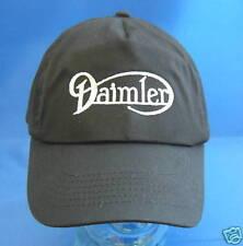 DAIMLER CAP BLACK WITH SILVER LOGO CAP9