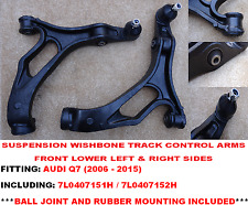 Q7 FRONT LOWER SUSPENSION WISHBONE TRACK CONTROL ARMS RIGHT+LEFT SIDES