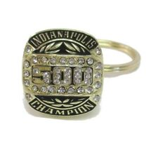 2019 Indianapolis 500 103RD Running Collector Winner Champion Ring Keychain