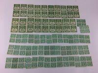 VTG WINE STAMPS 58 BLOCKS SERIES 1941 KEY DOLLAR LOT COLLECTION REVENUE USA NG C
