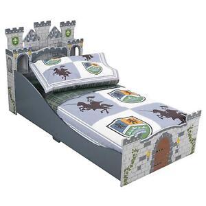 KidKraft 4 Piece Knights and Shields Toddler Bedding Set