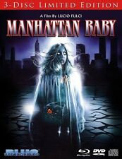 MANHATTAN BABY (3 disc limited edt) BLU RAY  - Sealed Region A