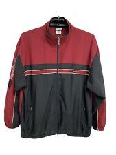 Vintage Reebok men's jacket windbreaker rain full zip long sleeve size Xl