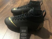 New Nike Mercurial Superfly 6 Elite FG Junior Youth Size 5Y Soccer Cleats Black