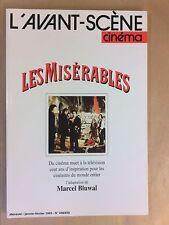 L'AVANT SCENE CINEMA N° 438-39 / 01-02/1995 / LES MISERABLES / MARCEL BLUWAL
