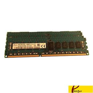 24GB(6X 4GB) DDR3 REG. 2Rx8 Memory Lenovo ThinkStation S20 (X58) 4105 4157 4217