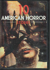 10 American Horror Stories (2 DVD Set) The Cry - Coven - Room 33 - Hurt +++