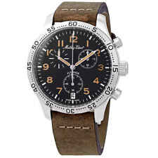 Mathey-Tissot Flyback Type 21 Chronograph Black Dial Men's Watch H1821CHALNO