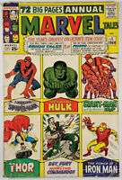 Marvel Tales #1 Annual - Spider-Man/Hulk/Thor/Iron Man/Nick Fury 1964 72 Pages!