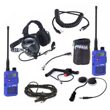 Rugged Radios Complete 5 Watt IMSA Racing Driver to Spotter Communications Kit