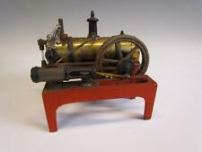 ANTIQUE signed WEEDEN CAST IRON & BRASS STEAM ENGINE