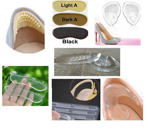 Ankle silicon heel gel T pad insole blister liner sandal shoe boot impact UK