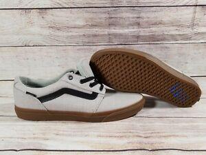 Vans Off The Wall Mens  Light Grey w/ Brown Gum Soles TB4R Sneakers  Sz 12