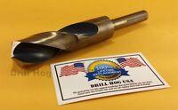 "1-1/8"" Drill Bit 1-1/8"" Silver & Deming Bit COBALT Drill Hog Lifetime Warranty"
