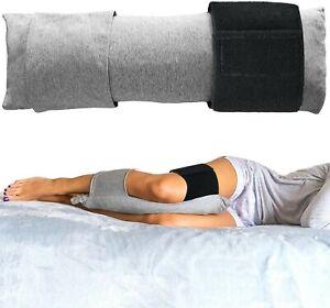 Shredded Memory Foam Knee Pillow for Side Sleeper Hip Pain Leg Support Cushion