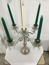 Kare Design Kerzenleuchter  42cm 5Arm Kerzenständer Kerzenhalter 64866 silbler