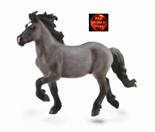 ICELANDIC STALLION BLUE DUN - Horse Toy Model by CollectA 88826 - New with tag