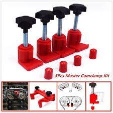 5X Master Camclamp KitDual Engine Timing Locking Tool Sprocket Gear Locking Kit
