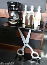 BIg SALE! Unique Scissor Table Sculpture,Salon decor,Barber shop,Spa,End Table