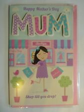 Mothers Day Card (Shop Till You Drop)
