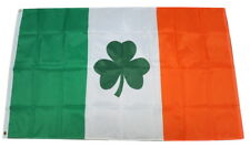 Ireland Irish Shamrock Clover St. Patrick National Country Flag 3x5 Feet