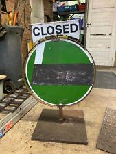 More details for vintage garage forecourt sign open closed