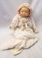 Antique 1930s GRACE S. PUTNAM Bye-Lo BABY DOLL Composition Head Cameo Doll Co.
