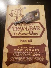 The Original Trav-L-Bar by Ever-Wear Travel Bar SuitCase Vintage Key.Key Only