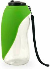 Fold-A-Bowl Portable Dog Water Bottle & Bowl Compact - Green