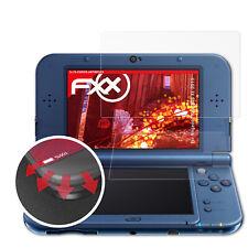 3x Anti Shock Screen Protector voor Nintendo New 3DS XL 2015 mat&flexibel