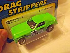 HOT WHEELS GREEN SHOW HOSS II  (No.9646) Blue Patch Card >Hong Kong Base (MOC)