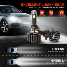 New 9006 90W CREE COB LED Headlight Kit 6000K 9800LM Car Light  Hi or low Beam