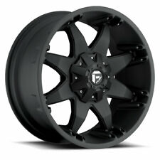(4) 17x8.50 Fuel D509 Matte Black Octane Wheels 6X135 6X139.7 For Ford Jeep