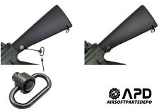 JG Quick Detach Sling Airsoft AEG M4 M16 Rifles Swivel ge kwa echo 1 kjw well