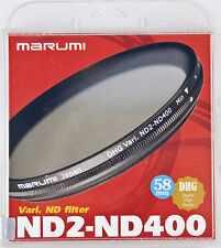 Marumi DHG ND2-ND400 58mm Variable ND Filter