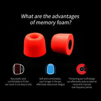 Memory 3 Pairs Foam Ear Tips Earbuds Noise Isolating Eartips Ear Pads Size S/M/L